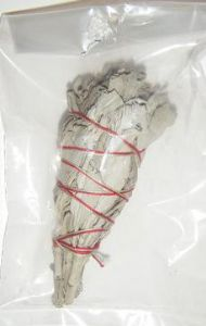 "Calfornia White Sage ""Grandfather Sage"" Smudge Stick (2-3"" Mini)"